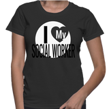 I Love My Social Worker T-Shirt