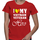 I Love My Vietnam Veteran Hero T-Shirt