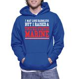 I May Look Harmless But I Raised A United States Marine Hoodie