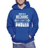 I Might Be A Mechanic But I Can't Fix Stupid Hoodie