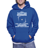I'm A Shooting Grandpa Just Like A Normal Grandpa Except Much Cooler Hoodie