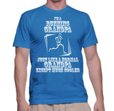 I'm A Running Grandpa Just Like A Normal Grandpa Except Much Cooler T-Shirt