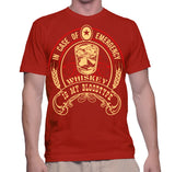 In Case Of Emergency Whiskey Is My Bloodtype T-Shirt