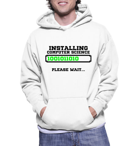 Installing Computer Science Please Wait... Hoodie