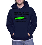 Installing Masters Degree Please Wait... Hoodie