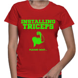 Installing Triceps Please Wait... T-Shirt