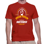 It Takes A Special Person To Be A Bartender T-Shirt