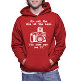 It's Not The Size Of The Lens It's How You Use It Hoodie