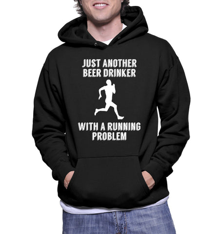 Just Another Beer Drinker With A Running Problem Hoodie