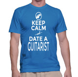 Keep Calm And Date A Guitarist T-Shirt