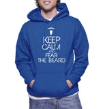 Keep Calm And Fear The Beard Hoodie