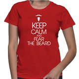 Keep Calm And Fear The Beard T-Shirt