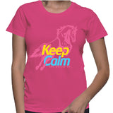 Keep Calm And Gallop On T-Shirt