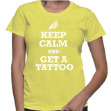 Keep Calm And Get A Tattoo T-Shirt