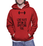 Lift Like Kate Upton Is Spotting You. Hoodie