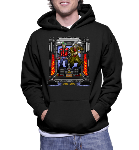 Marty And Doc II Hoodie