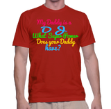 My Daddy Is A DJ What Super Power Does Your Daddy Have T-Shirt