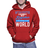 My Daughter Is The World's Best Kayaker In The History Of The World Hoodie