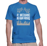 #1 Mechanic In New York T-Shirt
