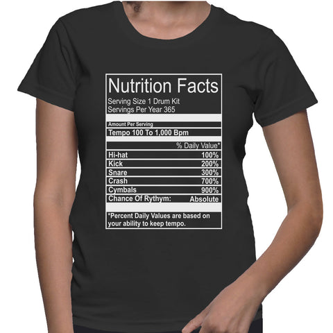 Nutrition Facts T-Shirt
