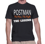 Postman The Man, The Myth, The Legend T-Shirt