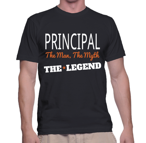 Principal The Man, The Myth, The Legend T-Shirt