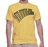 She Wants The Guitar T-Shirt