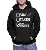 Single Taken Busy Hiring Artists Hoodie