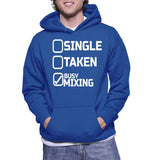 Single Taken Busy Mixing Hoodie
