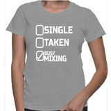 Single Taken Busy Mixing T-Shirt