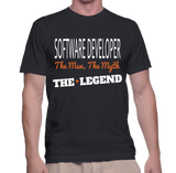 Software Developer The Man, The Myth, The Legend T-Shirt
