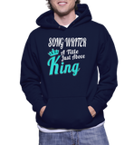 Song Writer A Title Just Above King Hoodie