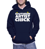 Southern Artist Chick Hoodie