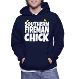 Southern Fireman Chick Hoodie