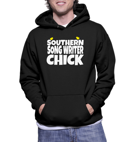 Southern Song Writer Chick Hoodie