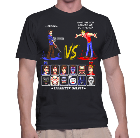 Super 80s Good Vs Evil 2 T-Shirt