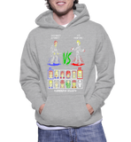 Super 80s Good Vs Evil Hoodie