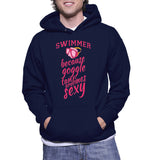 Swimmer Because Goggle Tanlines Are Sexy Hoodie