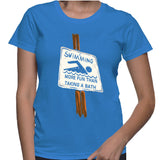 Swimming More Fun Than Taking A Bath T-Shirt