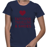 Tattoos Travelling & Shoes T-Shirt