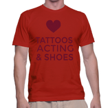 Tattoos Acting & Shoes T-Shirt