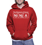 The Element Of Honor Ninja Hoodie