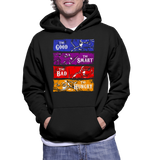 The Good The Smart The Bad The Hungry Hoodie