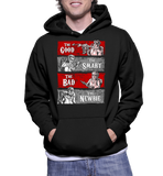The Good The Smart The Bad The Newbie Hoodie