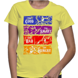 The Good The Smart The Bad The Hungry T-Shirt