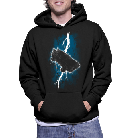 The Time Traveller Returns Delorean Hoodie