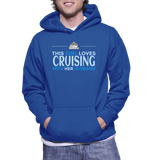 This Girl Loves Cruising With Her Husband Hoodie