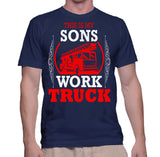 This Is My Sons Work Truck T-Shirt