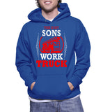 This Is My Sons Work Truck Hoodie