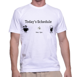Today's Schedule (Photography) T-Shirt
